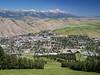Jackson, Wyoming (sharmaanmol) Tags: jackson wyoming snowking city town green jacksonhole tetons july