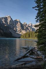 Moraine Lake (PaVaMo) Tags: canada alberta banffnationalpark morainelake valleyofthetenpeaks