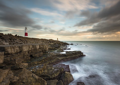 Low Tide (Chrissphotos) Tags: lowtide portlandbill dorset lighthouse canoncameraandlens 5dsr 1635f28lii leefilters seaweed rock photographer ghosting lowresolution