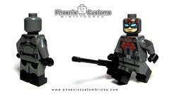 Sleeper Agent - Available NOW (Phoenix Custom Bricks) Tags: sleeper agent lego minifigure custom minifig superheroes villain double