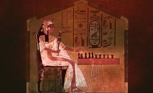 "Senet - Lujoso sistema de objetos lúdicos obsequio del dios Toht a la faraona Nefertari • <a style=""font-size:0.8em;"" href=""http://www.flickr.com/photos/30735181@N00/32369503012/"" target=""_blank"">View on Flickr</a>"