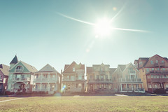 Ocean Grove, New Jersey (Erin Cadigan Photography) Tags: purple ocean grove nj new jersey architecture house