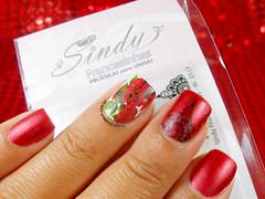 Películas W.2517 da Sindy Francesinhas (Lily's Nail) Tags: sindy francesinhas nail art sindyfrancesinhas nailart nails vermelho unhas unhasdecoradas