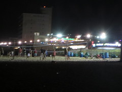 Beach nighttime sand volleyball in  Rehoboth Beach, Delaware, USA (RYANISLAND) Tags: rehobothbeach rehoboth beach rehobothbeachdelaware rehobothbeachde rehobothdelaware rehobothde delaware de summer summertime itsgoodbeingfirst thefirststate firststate sussexcounty theatlanticocean atlanticocean july 15 2015 visitrehobothbeach visitrehoboth iloverehobothbeach americansummer beachtown town city beachcity costal costaltown usa yearroundbeachtown thenationssummercapital nationssummercapital summercapital ilovesummer summerfun sports volleyball
