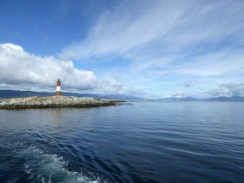 leaving les Eclaireurs lighthouse