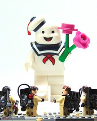 Stay Puft Valentine (-Leot-) Tags: lego staypuft puft ghostbusters ghost busters billmurry valentine valentinsday 14days 14daysofvalentinesday leot