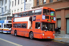 First Manchester 4541 (ANA 541Y) (SelmerOrSelnec) Tags: firstmanchester leyland atlantean northerncounties ana541y manchester mosleystreet gmt bus