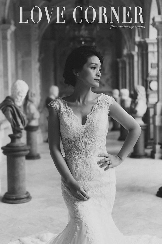 老英格蘭婚紗包套