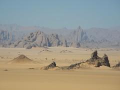 Chad Tibesti NE Ouri Plain (ursulazrich) Tags: tschad chad tchad ciad sahara tibesti desert rocks mountains gebirge volcanism sand felsen