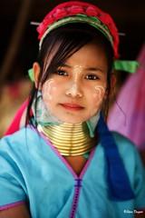 0S1A1401 (Steve Daggar) Tags: thailand chiangmai culture portrait costume longneck karinlongneck hilltribe candid