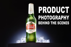 Product Photography BTS (L S G) Tags: beer photography beverage strobist studio lighting stella fake ice nikon d750 60mm micro photoshoot bts tutorial