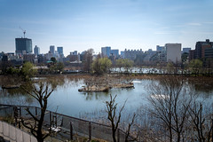Winter View (H.H. Mahal Alysheba) Tags: water wide tokyo ueno landscape urban sky lumix gx7 kipon efmft canon 1022mmf3545