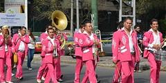 Parade of the Alebrijes 2014 (145) (Carl Campbell) Tags: street musicians mexicocity band parade desfile ciudaddeméxico