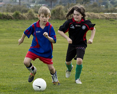 Ninth Grade Tourney 34 (C & R Driver-Burgess) Tags: girls boys football goal kick soccer young pass run tournament score tackle dribble