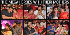 The Mega Heroes With Their mothers (iluvcinema.in1) Tags: chiranjeevi nagababu ramcharanteja themegaheroeswiththeirmothers