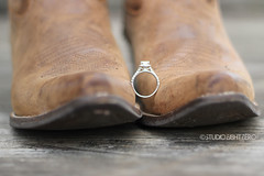 wedding ring (studioei8htzero.com) Tags: travel boots country pride engagementring ring explore upclose cowboyboots traveler cowgirlboots