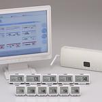 電子棚札システムの写真