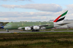 F-WWSE // Emirates // A380-861 // MSN 206 // A6-EOV (Martin Fester) Tags: airplane aircraft hamburg 206 f1 emirates airbus a380 primer msn toulouse tls firstflight finkenwerder airbusindustrie ferryflight a380861 fwwse a6eov msn206