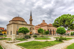Seyh Kutbuddin Mosque and Iznik Museum (Nejdet Duzen) Tags: trip travel museum turkey cloudy trkiye mosque historical ottoman bursa turkei iznik seyahat tarihi nicea bulutlu