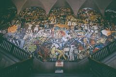 Diego Rivera's mural at Palacio Nacional (-Desde 1989-) Tags: food teotihuacan diegorivera palacionacional garibaldi pujol biko nicos mercadodesanjuan tenampa visitmexico 50best merotoro azulhistorico mesaamérica mesareconda