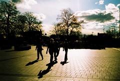 E101183-R1-15-16 (Savviesmith) Tags: camera new winter christchurch sky sunlight film skyline 35mm lomo lomography saturated silhouettes blurred olympus zealand glowing brightness
