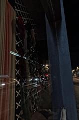 Reflets nocturnes, retour de Photowalk (fmcp) Tags: paris france boulevard mtro voiture reflet photowalk 75 garibaldi nuit 75015 fra vitrine moyendetransport polarod669