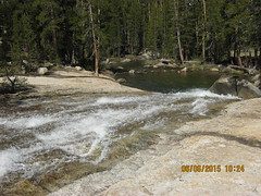 Rapids and falls on the Dana Fork next to Puppy Dome - Tioga Pass Resort trip - June 3-7, 2015 (Bob_ Perry) Tags: yosemite tiogapass tuolumneriver tiogapassresort danafork puppydome inyonational cabinnumber9
