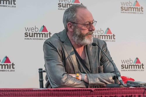 WEB SUMMIT 2015 - LIAM CUNNINGHAM MEETS THE PRESS [ACTOR]-109585