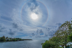 Beautiful Halo ! (Andy Johnson Photos) Tags: seascape clouds landscape island halo grenada caribbean westindies skyporn mygearandme nikond7100