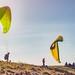 Puy de Dôme paragliders