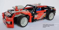 LEGO Technic 42041B Race Car (KatanaZ) Tags: racecar lego technic racetruck alternatedesign lego42041b lego42041