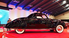 1938 Lincoln Zephyr coupe '859U' 5 (Jack Snell - Thanks for over 26 Million Views) Tags: sf auto show ca 58th wallpaper art cars wall vintage paper san francisco display 1938 center international zephyr lincoln collectible moscone coupe excotic jacksnell707 jacksnell 859u accadomy