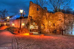 Rondje van de Molen (Jaru's Pics) Tags: old night canon buildings photography evening colours sigma filter nd roller anton efteling avond coaster hdr 1835mm 70d pieck
