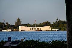Pearl Harbor Day - U.S.S. Arizona Memorial (randyherring) Tags: ocean arizona island hawaii us memorial oahu wwii pearlharbor honolulu remembrance ussarizonamemorial 50thstate