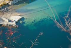 Zalew Zakrzwek (Hejma (+/- 4500 faves and 1,4 milion views)) Tags: blue red nature water outside dam poland polska natura krakw cracow niebieski woda lightandshade zalew czerwony wiatoicie koloryjesieni colorofwater coloursoftheautumn zalewzakrzwek barwywody skaywapienne rockoflimestone