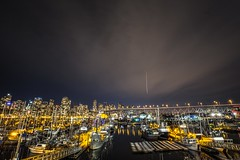 December 8, 2016 (Amanda Catching) Tags: today longexposure city skyline vancouver false creek