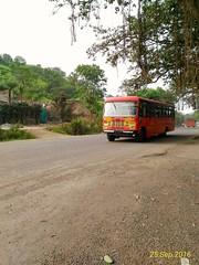Pune-Satara-Karad-Kolhapur-Kagal-Nippani-Gadhinglaj. (kunaltendulkar96) Tags: msrtc newparivartan gadhinglaj
