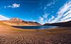 Laguna Miñiques (josefrancisco.salgado) Tags: 16mmf28dfisheye atacamadesert chile d810a desiertodeatacama iiregióndeantofagasta lagunamiñiques nikkor nikon provinciadeelloa reservanacionallosflamencos altiplano desert desierto fullframefisheye lagoon laguna