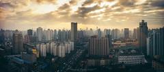 Sunrise at Shanghai, China (tuanduongtt8018) Tags: sunsetatshanghai china sun sunrise travel traveldestination travelandtourism sky city cityline sonya7 carlzeiss