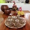 I received a gift from Iran (magellano) Tags: casa home natale christmas regalo gift iraniano iranian servizio set tavolo table cucina kitchen addobbo natalizio decoration albero tree candela candle