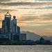 Skyline & Harbor at Sunset - Hong Kong