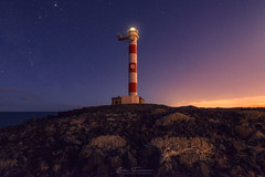 Faro Tenerife (Ivn F.) Tags: tenerife faro lighthouse nigh nightscape night scene noche sky star stars canarias spain travel landscape lancscapes europe island long exposure nikon d800e tamron 1530