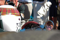 Smiling Jackie (NaPCo74) Tags: sir jackie stewart goodwood revival 2016 sussex lord march classic historic racing formula one un uno formule f1 world champion championship 1965 1966 1964 brm p261 v8 graham hill 1967 tartan helmet legend driver uk united kingdom england britain canon eos 700d grrc
