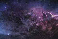 purple nebula and cosmic dust (anitomoro) Tags: universe galaxy background space star sky blue night nebula cloud cosmic dust astronomy abstract plasma texture purple science outerspace cosmos dark milkyway gas black deep heaven wallpaper constellation planetarium exploration colorful telescope starry light cluster planet bigbang interstellar backdrop astrology future nature explosion infinity solar system field mystery creation graphic