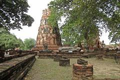 Ayutthaya - Wat Mahathat (zorro1945) Tags: watmahathat ayutthaya thailand asia wat temple buddhisttemple ruin buddhism history 1374 ruinedtemple