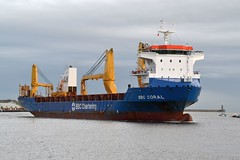 BBC Coral. Tyne 090117 (silvermop) Tags: ship boats ships sea cargovessel heavyliftvessel port river tyne bbccoral