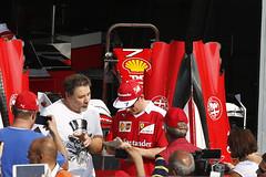 _88A7423 (Foto Massimo Lazzari) Tags: racer raikkonen f1 formulauno box autodromodimonza ferrari