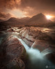 River Coupall (chrisD_photography) Tags: ngc scotland glencoe river water sunset moody drama rocks landscape sharp