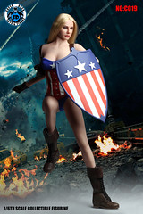 SUPER DUCK SUD-C019 American Female Action Hero Accessory - 01 (Lord Dragon 龍王爺) Tags: 16scale 12inscale onesixthscale actionfigure doll hot toys superduck female
