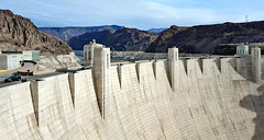 Hoover Dam • 30-minutes from Las Vegas (SteveMather) Tags: hoover boulder dam lasvegas hydroelectric generators lakemead blackcanyon coloradoriver